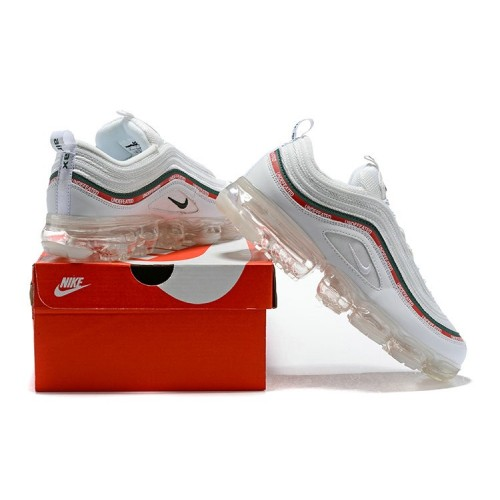 Men's Nike Air Max 97 Undefeated x VaporMax White Silver