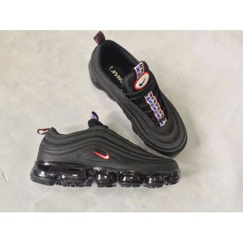 Men's Nike Air Max 97 x VaporMax Black Red For Sale