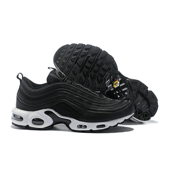 Men's Nike Air Max Plus 97 White Black