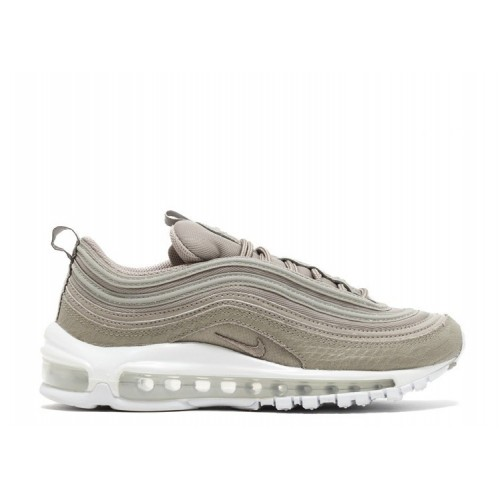 Women's Nike Air Max 97 Premium 917646-002 Cobblestone White