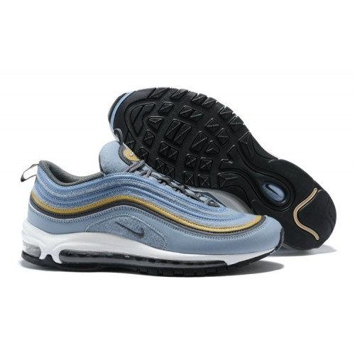 Men's Nike Lab Air Max 97 Ultra Gold Light Blue White