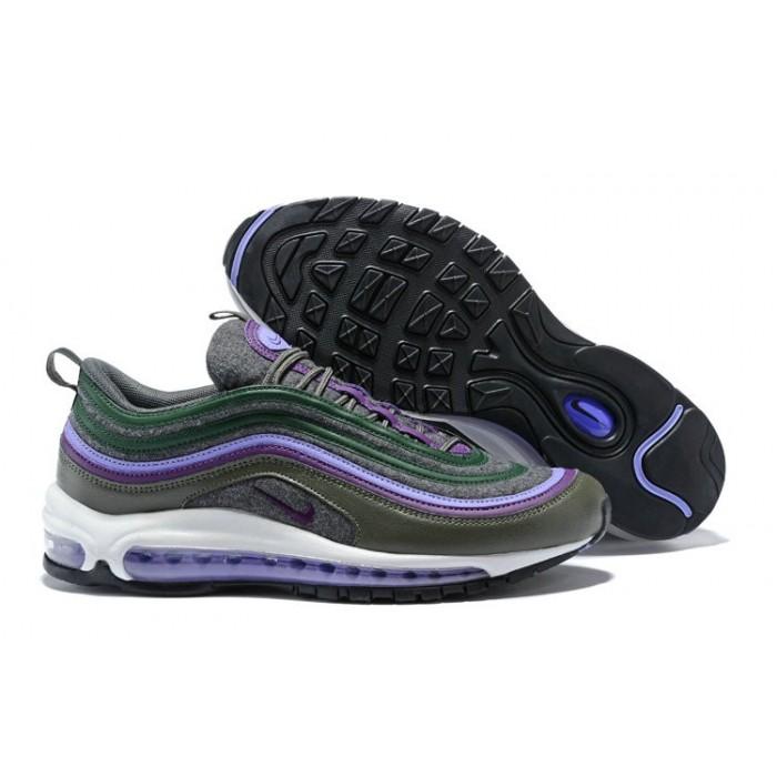 Men's Nike Lab Air Max 97 Ultra Green Black Purple