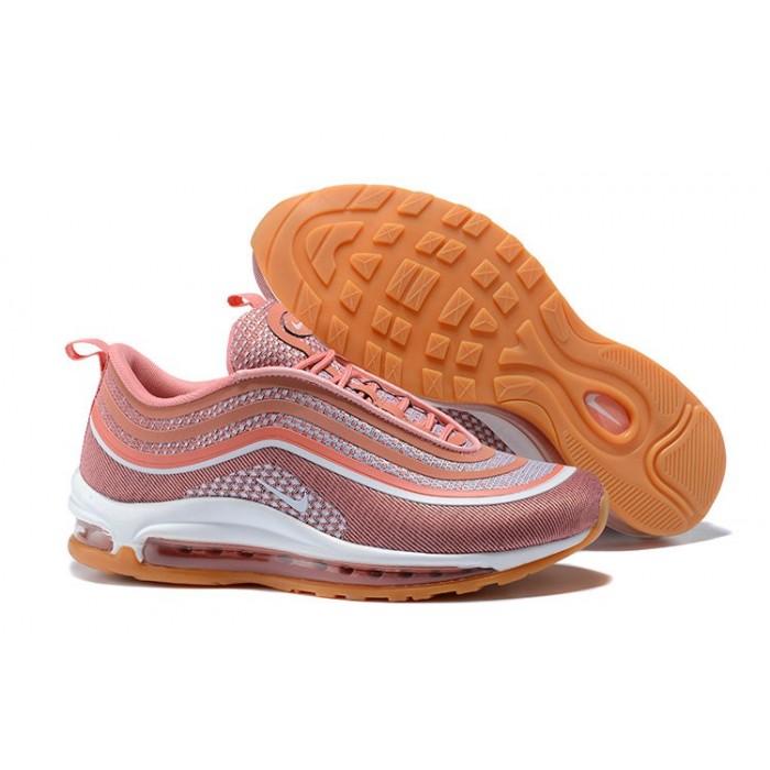 Women's Nike Air Max 97 Ultra 17 Pink White Orange