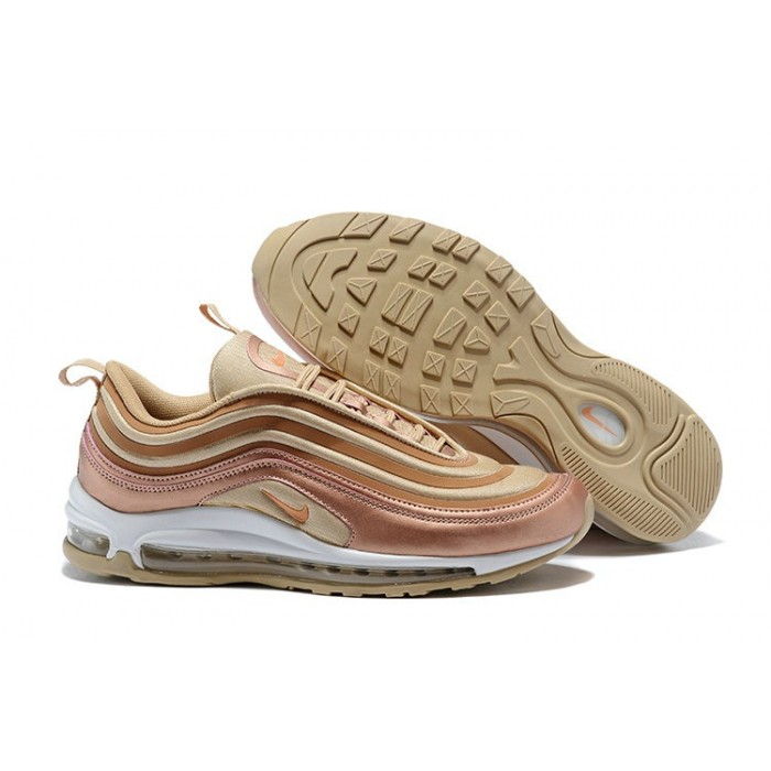 Women's Nike Air Maxs 97 Ultra 17 SE Rose Gold White