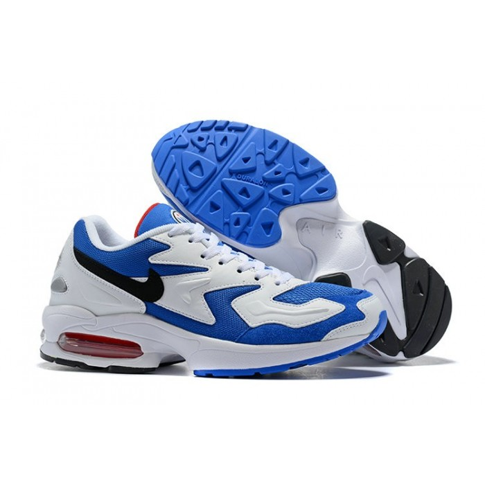 Men's Nike Air Max 2 Light Blue Black White