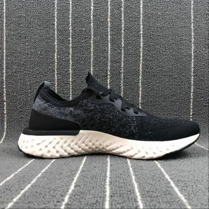 Men's Nike Odyssey React AQ0070-008 BLACK GREY WHITE