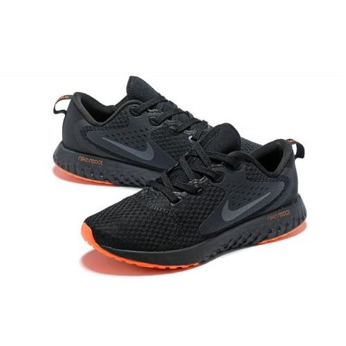 Men's Nike Odyssey React Black Orange