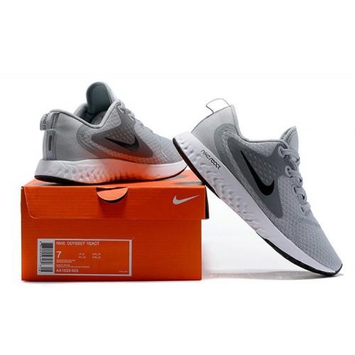 Men's Nike Odyssey React Grey Black White