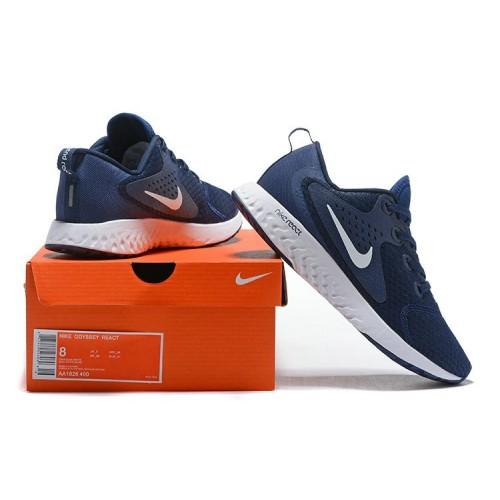 Men's Nike Odyssey React Navy Blue White