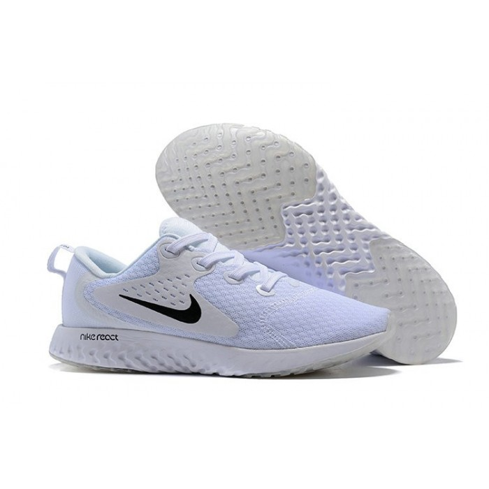 Men's Nike Odyssey React White Grey Black