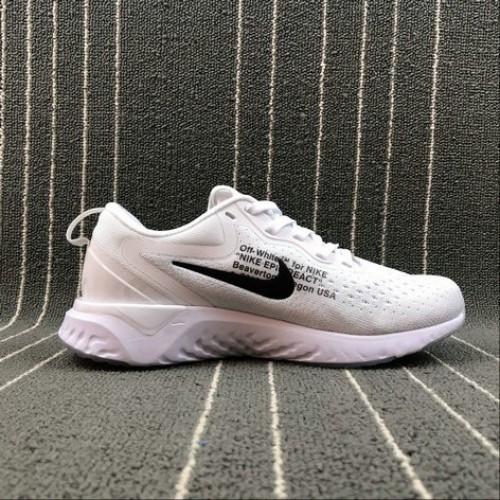 Women's Nike Odyssey React AQ9820-001 WHITE BLACK