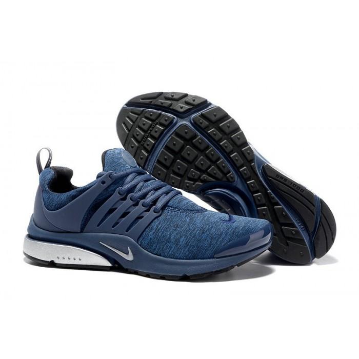 Men's 2018 Nike Air Presto BR QS Blue White Black Sale