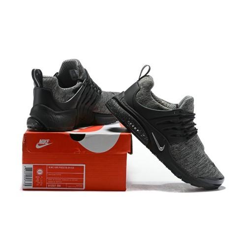 Men's 2018 Nike Air Presto BR QS Grey Black Sale