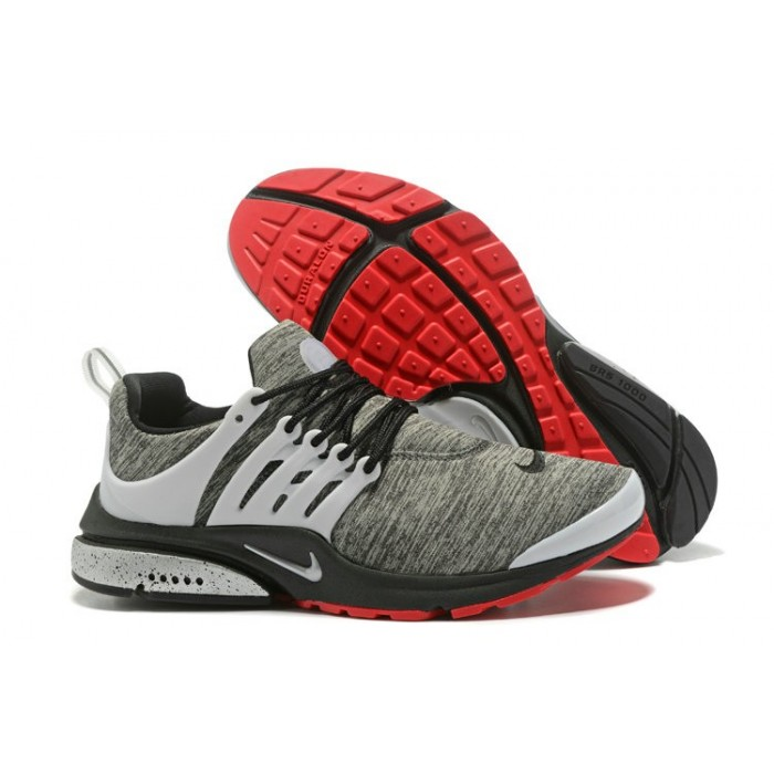 Men's 2018 Nike Air Presto BR QS Grey Red White Black Sale