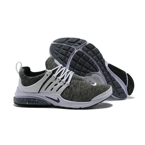 Men's 2018 Nike Air Presto BR QS Grey White Black Sale
