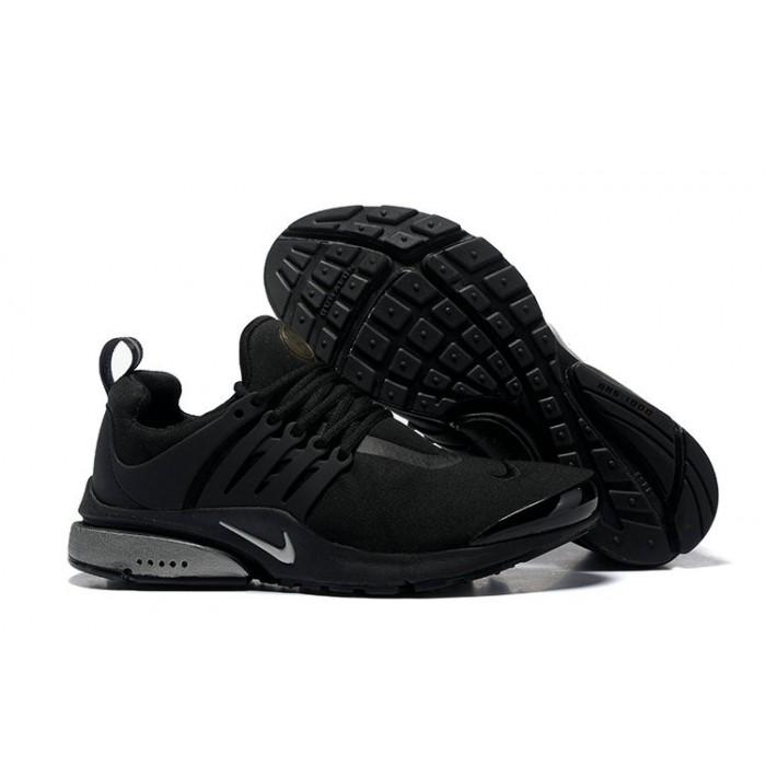 Men's 2018 Nike Air Presto BR QS Triple Black Sale