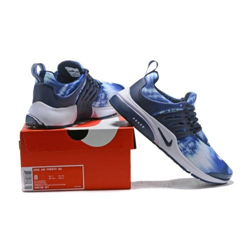 Men's 2018 Nike Air Presto x Nike Air Presto Blue White