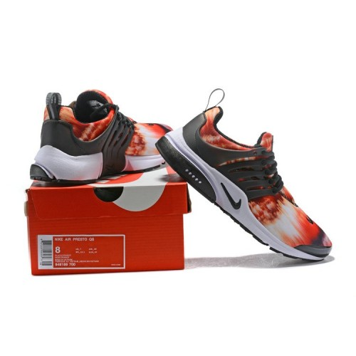 Men's 2018 Nike Air Presto x Nike Air Presto Orange Red Black White
