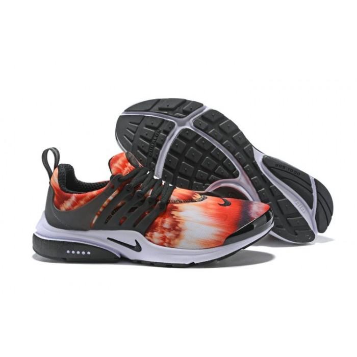 Men's 2018 Nike Air Presto x Nike Air Presto Orange Red Black White