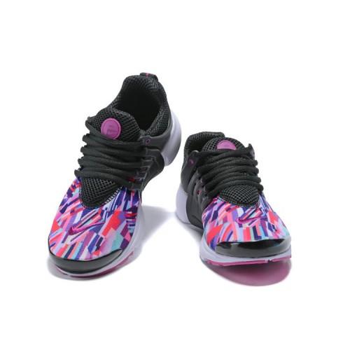 Women's 2018 Nike Air Presto x Nike Air Presto Black Purple White