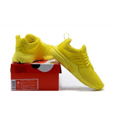 Women's 2018 Nike Air Presto x Nike Air Presto TP QS Yellow