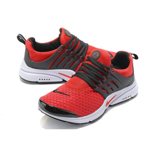 Men's Nike Air Presto Essential Fire Red Black White
