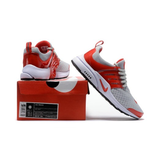 Men's Nike Air Presto Essential Grey Red Black