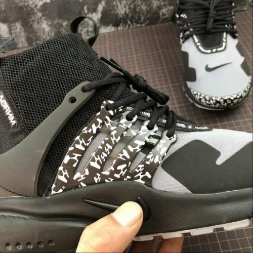 Women's Nike Air Presto Mid ACRONYM AH7832-001 Cool Grey Black