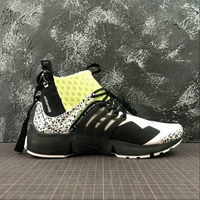 Women's Nike Air Presto Mid ACRONYM AH7832-600 Fluorescent Green