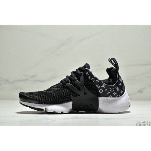 Men's Nike Air Presto Flyknit Ultra Black White