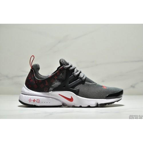 Men's Nike Air Presto Flyknit Ultra Dark Grey Red