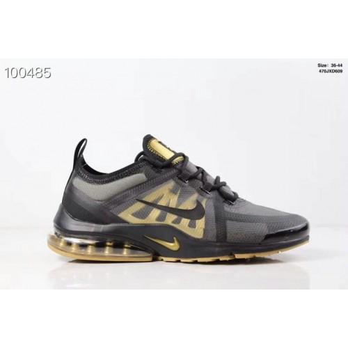 Women's Nike Air PresTo x VaporMax 2019 Black-Metallic Gold