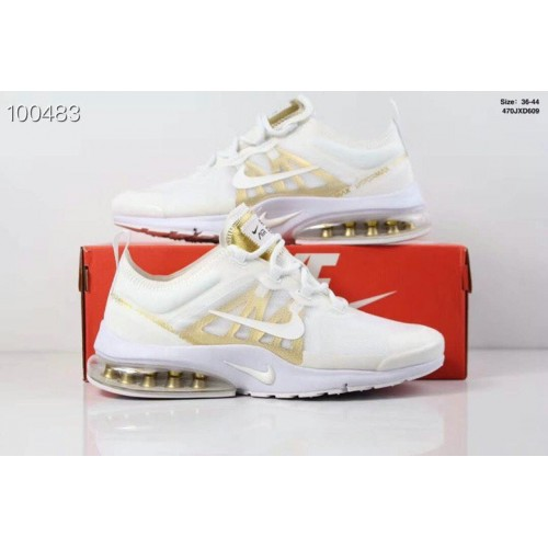 Women's Nike Air PresTo x VaporMax 2019 Pure Platinum Metallic Gold