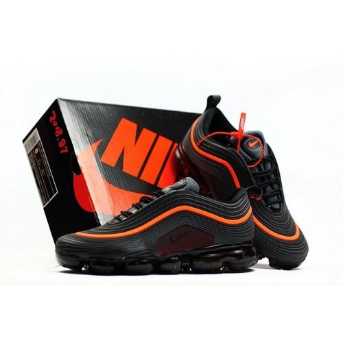Men's 2018 New Arrival Nike Air VaporMax 97 Orange Black