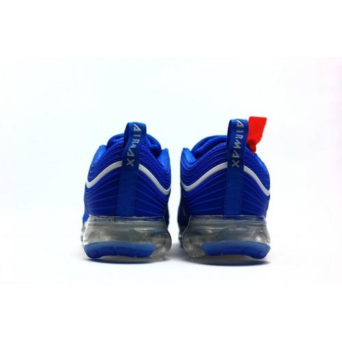 Men's 2018 New Arrival Nike Air VaporMax 97 Royal Blue White