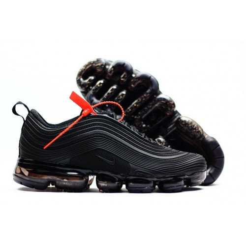 Men's 2018 New Arrival Nike Air VaporMax 97 Triple Black