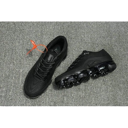 Men's 2018 Nike Air Max Nike VaporMax All Black