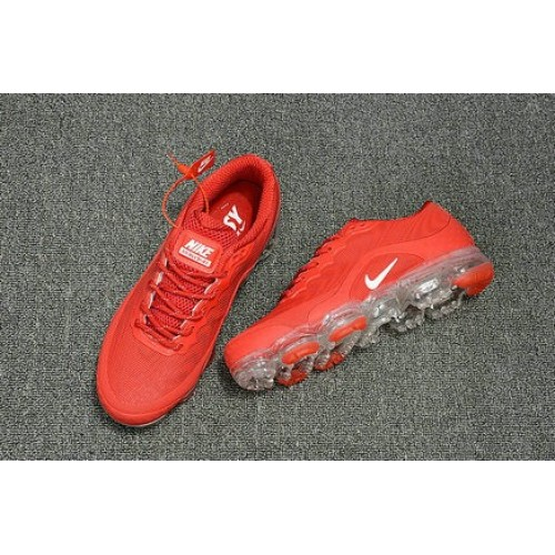 Men's 2018 Nike Air Max Nike VaporMax Red White