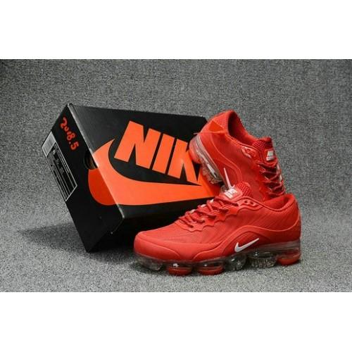 Men's 2018 Nike Air Max Nike VaporMax Red White