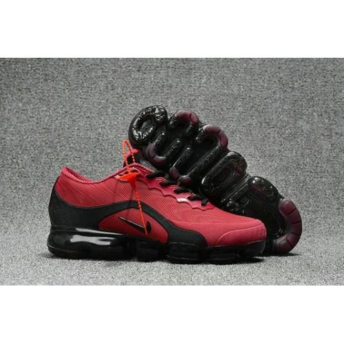 Men's 2018 Nike Air Max Nike VaporMax Wine Red Black