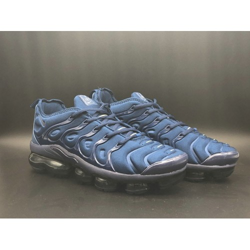 Men's 2018 Nike Lab VaporMax x Nike Vapormax Plus Navy Blue Black
