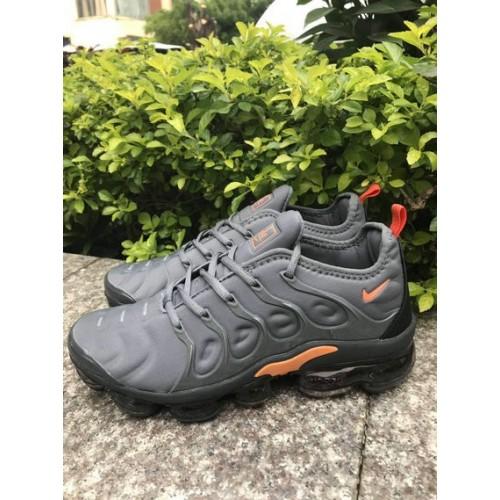 Men's 2019 Nike Air VaporMax Grey Orange Black