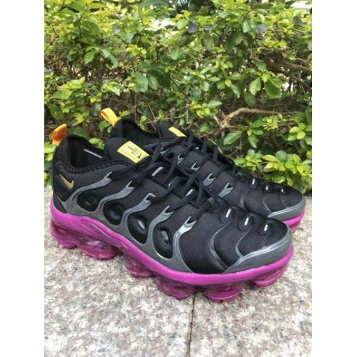 Men's 2019 Nike Air VaporMax Plus Purple Black