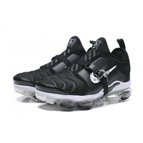 Men's 2019 Nike Air VaporMax Plus TN Black White