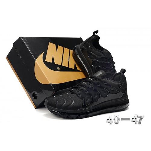 Men's 2019 Nike Air VaporMax Plus Running Triple Black