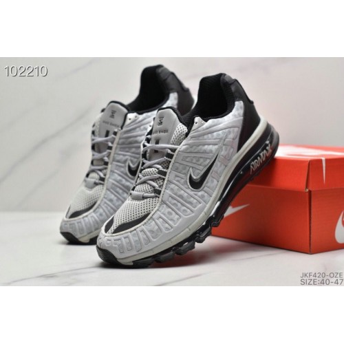 Men's 2019 Nike Air VaporMax Plus Wolf Grey Black
