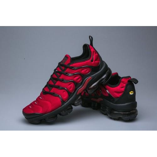 Men's Nike Air VaporMax Plus Deep Red Black