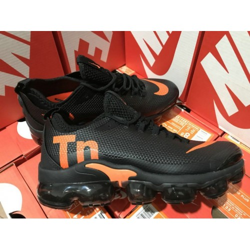 Men's Nike Air VaporMax Plus TN Black Orange