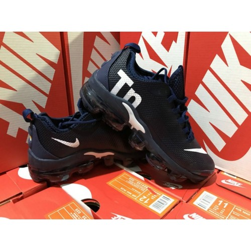 Men's Nike Air VaporMax Plus TN Navy Blue White