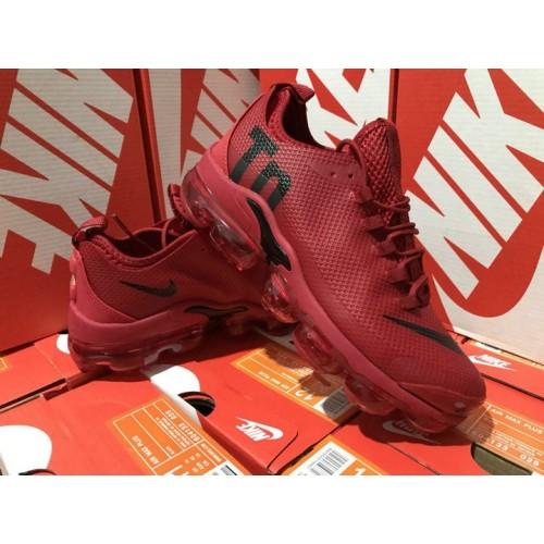Men's Nike Air VaporMax Plus TN Wine Red Black